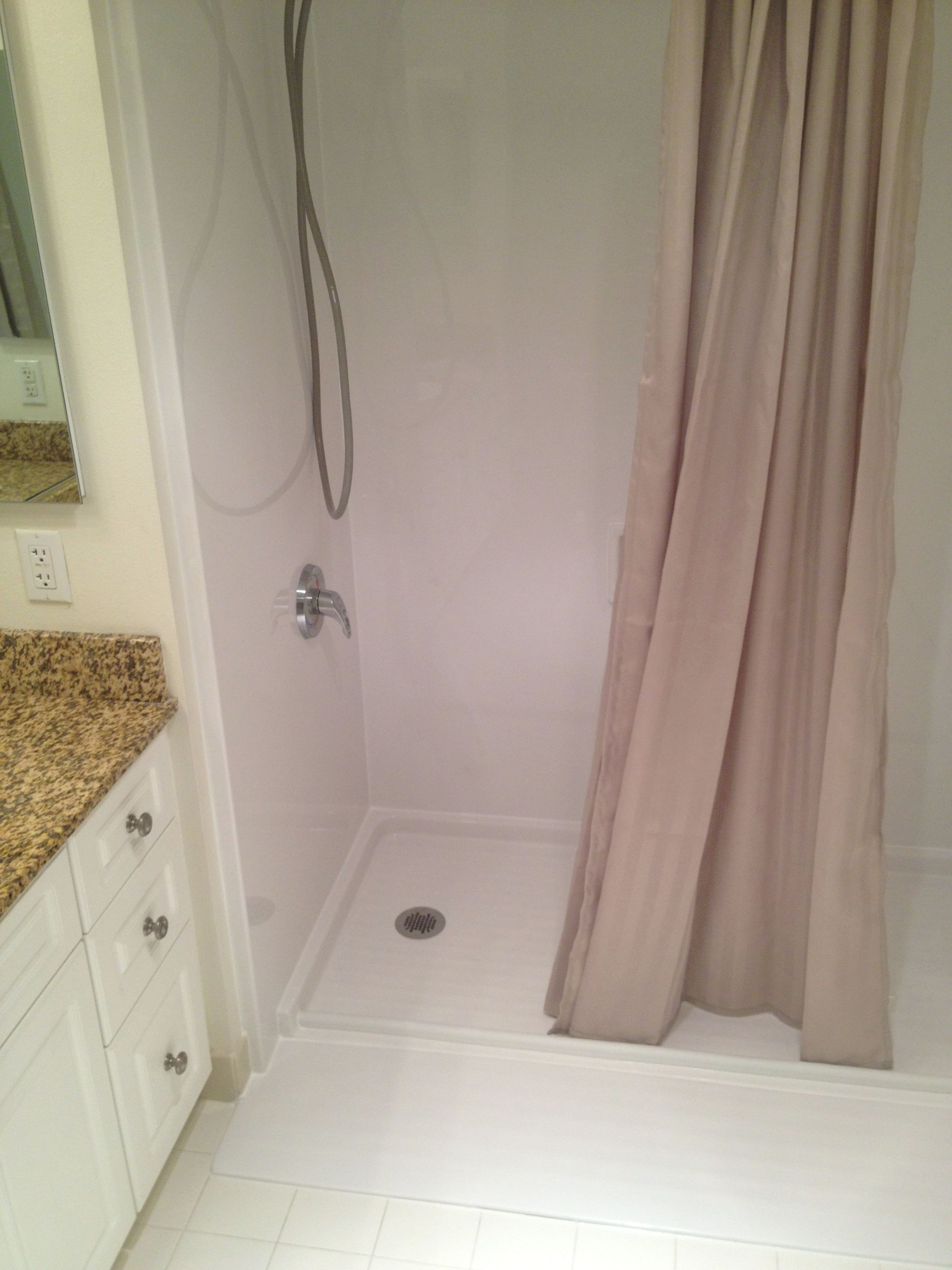 Simple and quick bath remodel for Fast bathroom remodel